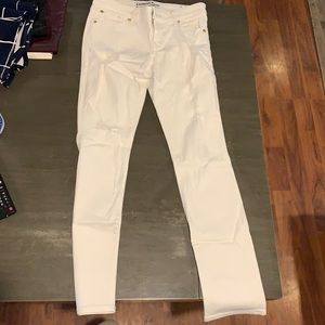 Express jeans. Skinny ankle. White. Size 2
